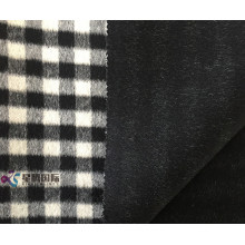 OEM/ODM for Plaid Wool Fabric Small Black White Plaid 100% Wool Fabric supply to Brazil Manufacturers