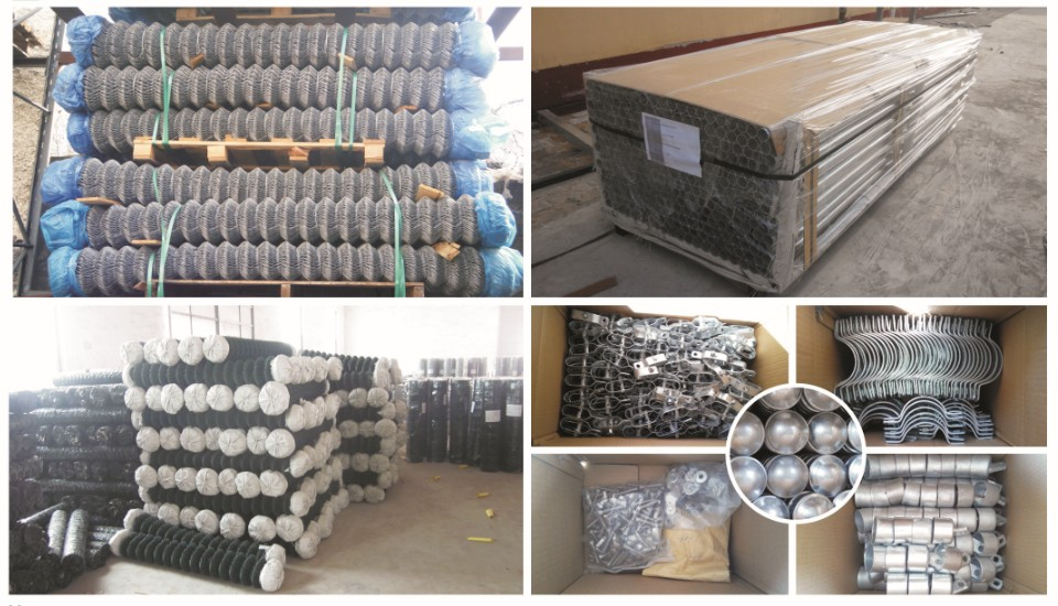 Chain Fence Mesh packing