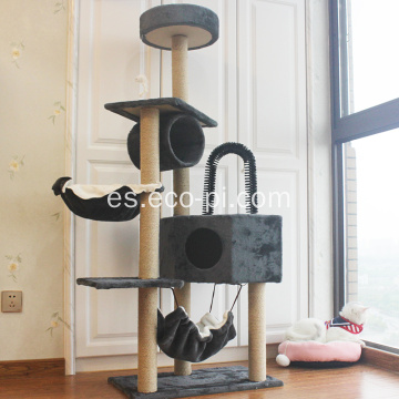 Condo Catcus Escalada Scratching Cat House Tree Tower