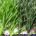 Two color artificial grass running track