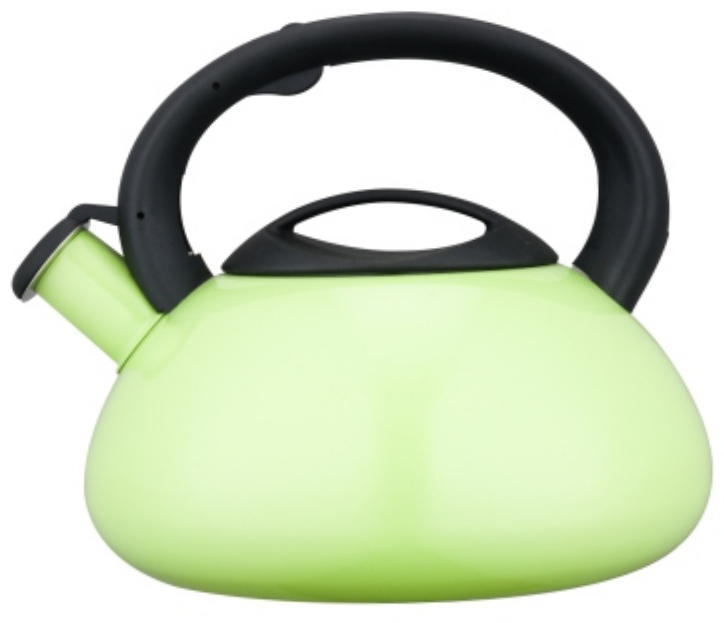 KHK038 4.5L Stainless Steel Whistling Teakettle with color painting