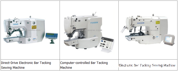 Bar Tacking Sewing Machines