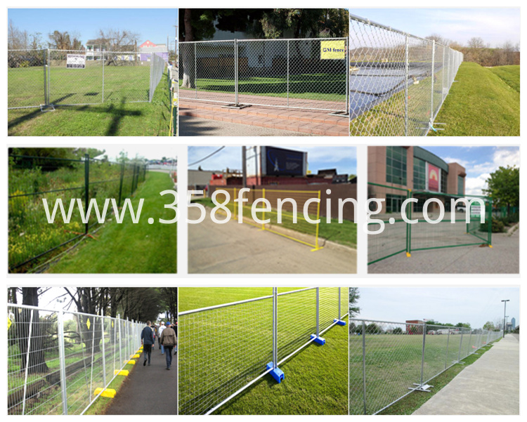 Temporary Fence H