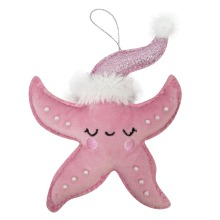 3D starfish christmas ornaments