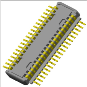 0.4mm Board to Board connector Male mating Height=1.5mm