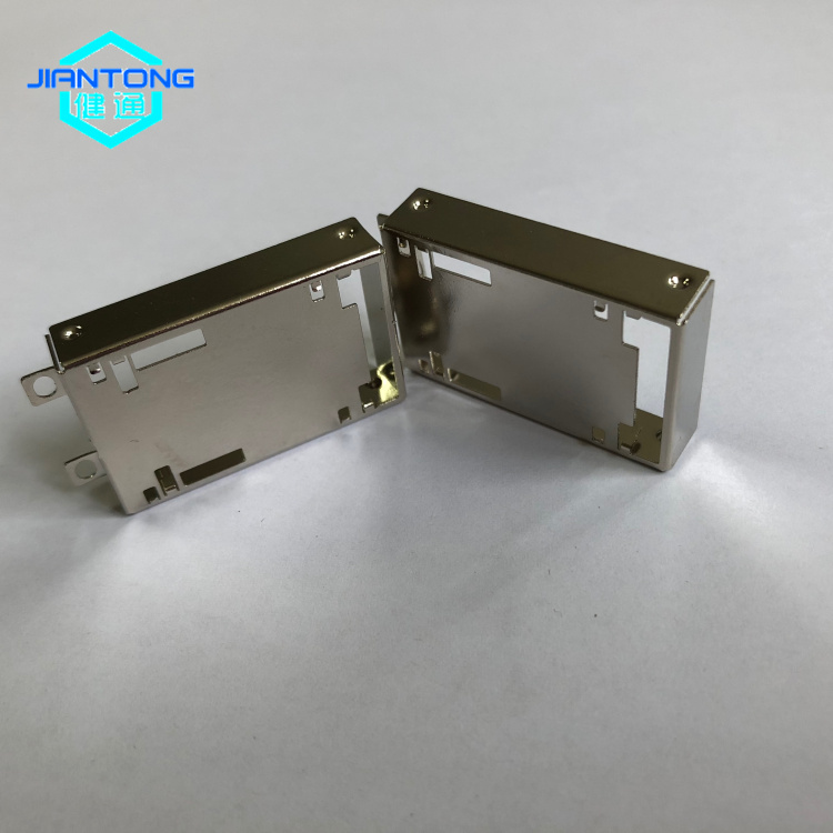 custom small sheet metal stainless steel stamping enclosure (5)