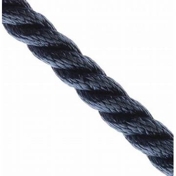 Multicolor Polypropylene Floating Marine Rope 3-Strand Twisted