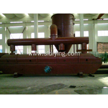 Potassium carbonate vibrating fluidized bed dryer