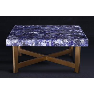 Rectangle Dining Table Luxury Stone