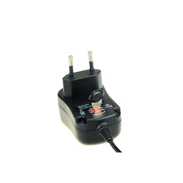 12W Universal AC DC Adapter for Electronics