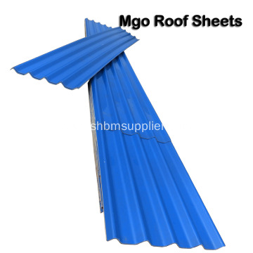 Heat-proof Anti-Corrosion No-Asbestos MgO Roof Sheet