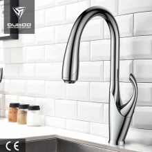 Goose Neck Swivel Pull-Down Kitchen sink mixer Tap