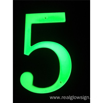 Realglow 3D Number 5