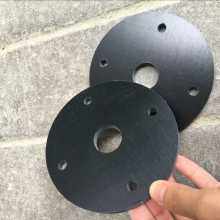 CNC machine black round bakelite board