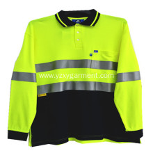 Air mesh reflector light workwear