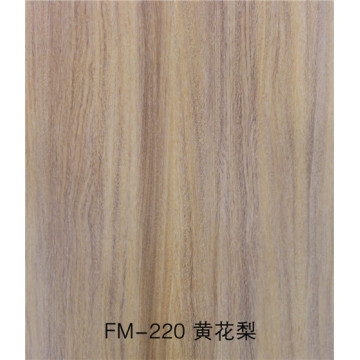 UV painted fiber cement silicate board wood look