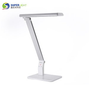 silver color table lamp working lamp office lamp