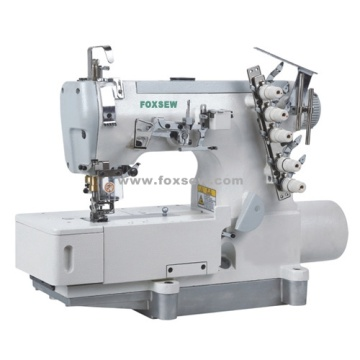 Direct Drive Flatbed Interlock Sewing Machine