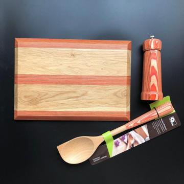 Personalized combine wood cutting board