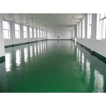 Ground solvent-free epoxy self-leveling varnish
