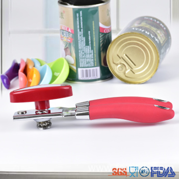 Strong rubber non slip handle manual can opener
