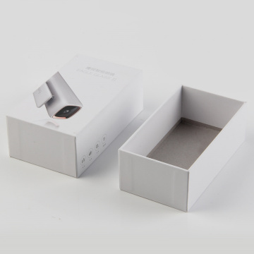 White Paper Gift Box Electronics Packaging Box