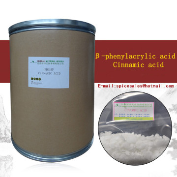 High Quality Cinnamic acid Used In Pesticide Cas.140-10-3