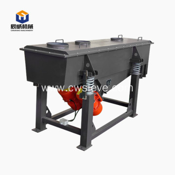 high efficient linear sifter machine for silica sand