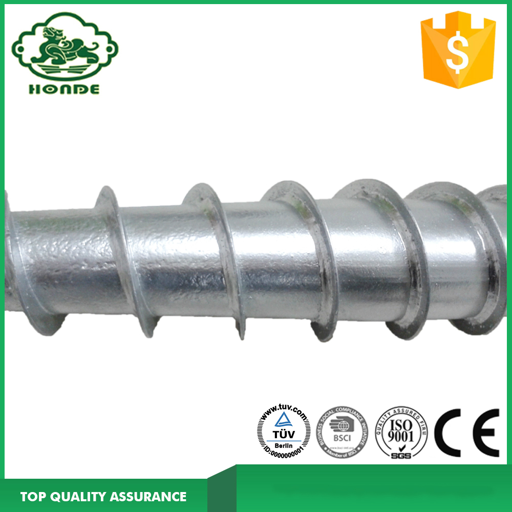 Hot Dipped Ground Screw For Solar PV
