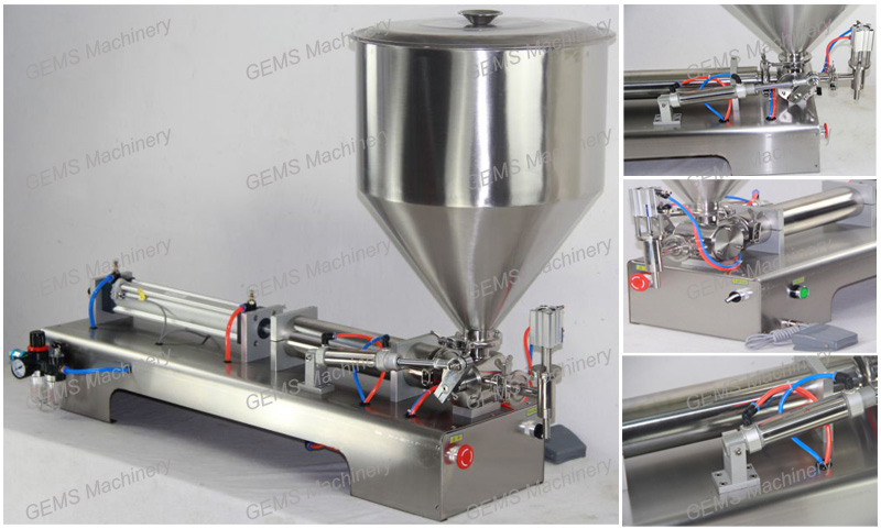 Hot Sauce Filling Machine 2
