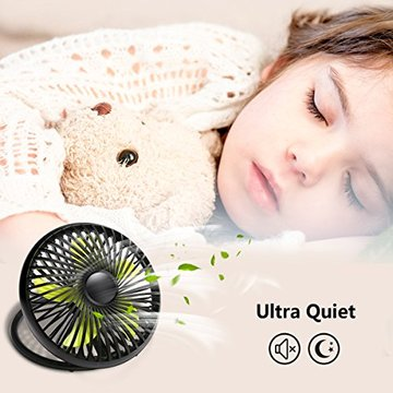 USB Portable Desk Personal Cooling Fan