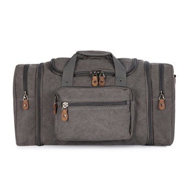 Large Capacity Canvas Travel Luggage Bag for Mens