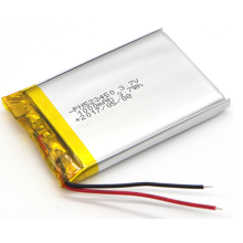 3.7v 1000mAh LiPo Battery For Car Camera (LP3X5T5)