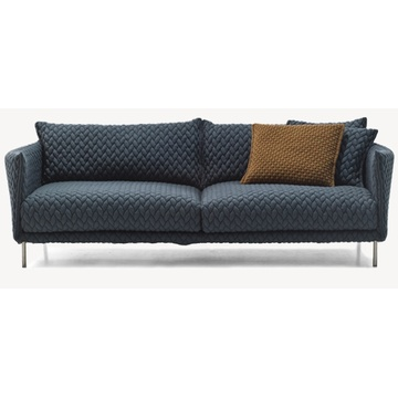 Living Room Sofa With Stainless Steel Legs