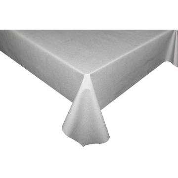 Solid Embossed Fabric Tablecloth Covers 90 Round