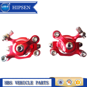 Red Left & Right Bike/Tricycle Brake Calipers