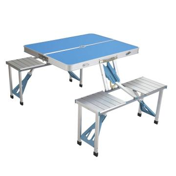 easy folding aluminum table