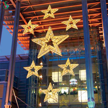 Hang 3D ourdoor waterproof Star