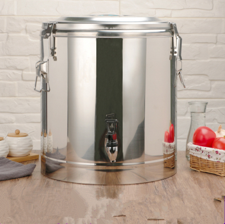 Stainless Steel Soup Bucket