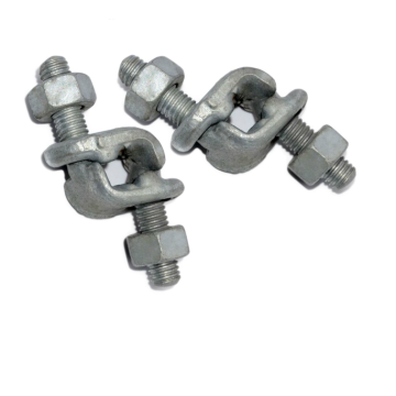 Drop Forged Galvanized Fist Grip Clip