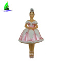 bride glass pink princess doll figurine ornament