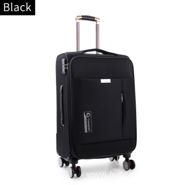 Oxford carry-on luggage trolley bags for women