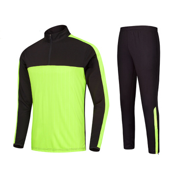 Long sleeve design multi-color tracksuit