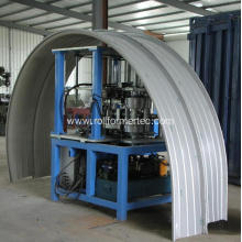 Standing seam panel curver curving machine