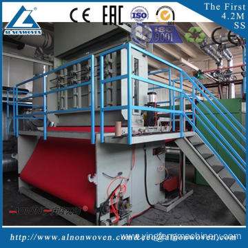 New design AL-3200 SS nonwoven fabric making machine with great price