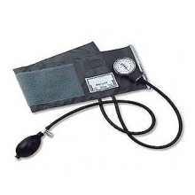 blood pressure monitor with D-ring Cuff