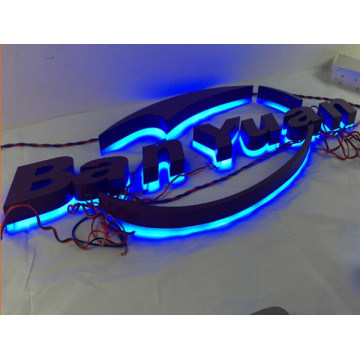 Backlit Letter Signs Custom Boxes