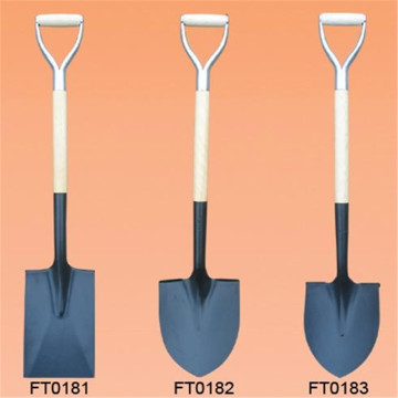 Special Price for Stainless Steel Shovel Wooden Handle Shovel Steel Round Head Shovels export to Poland Factory