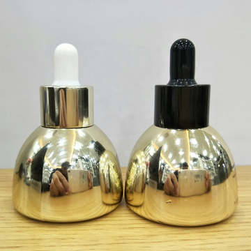 30ml colorful triangle glass dropper bottles
