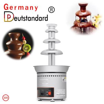 Three-tier chocolate fountain machine for sale